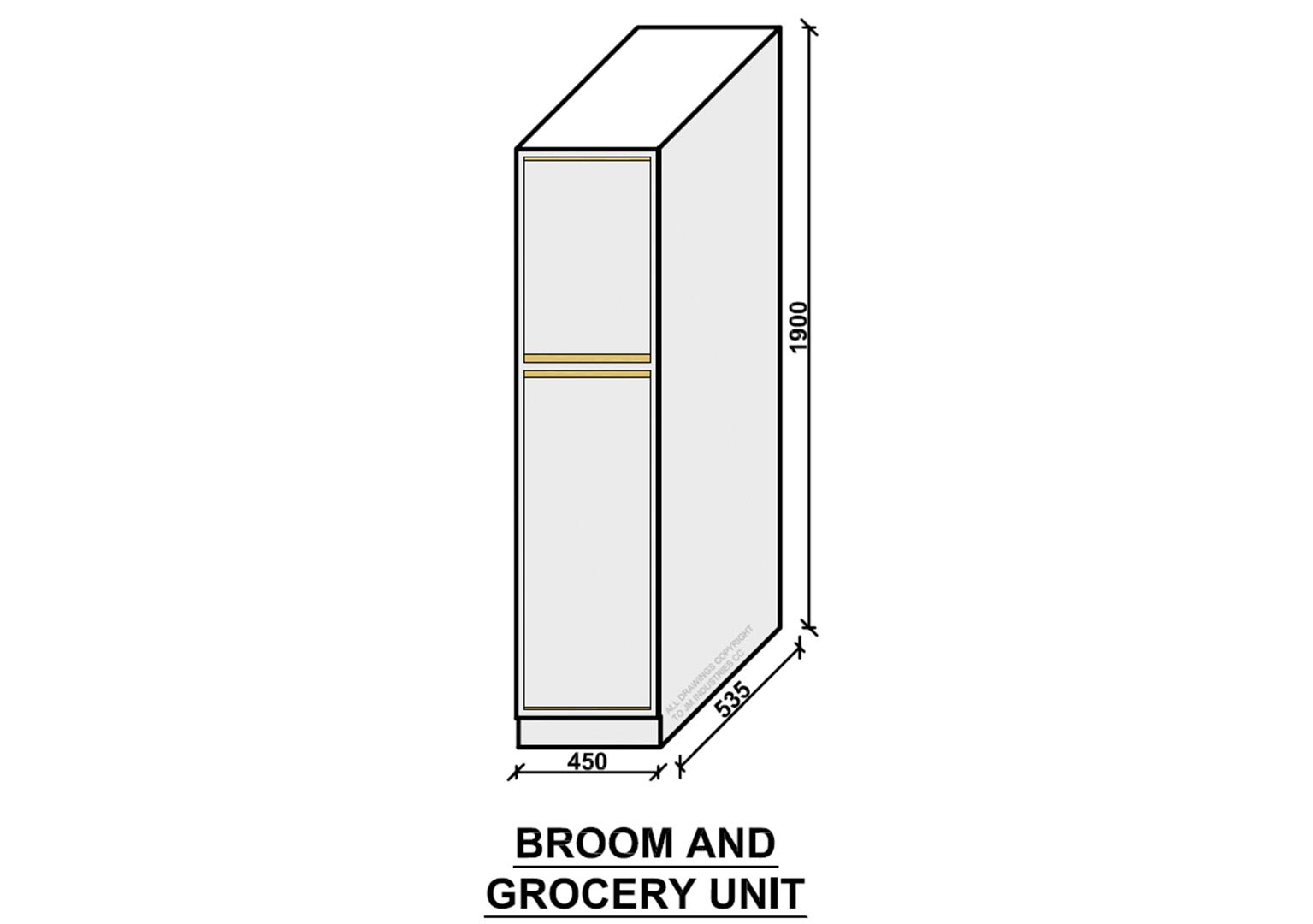 Broom and Grocery Unit