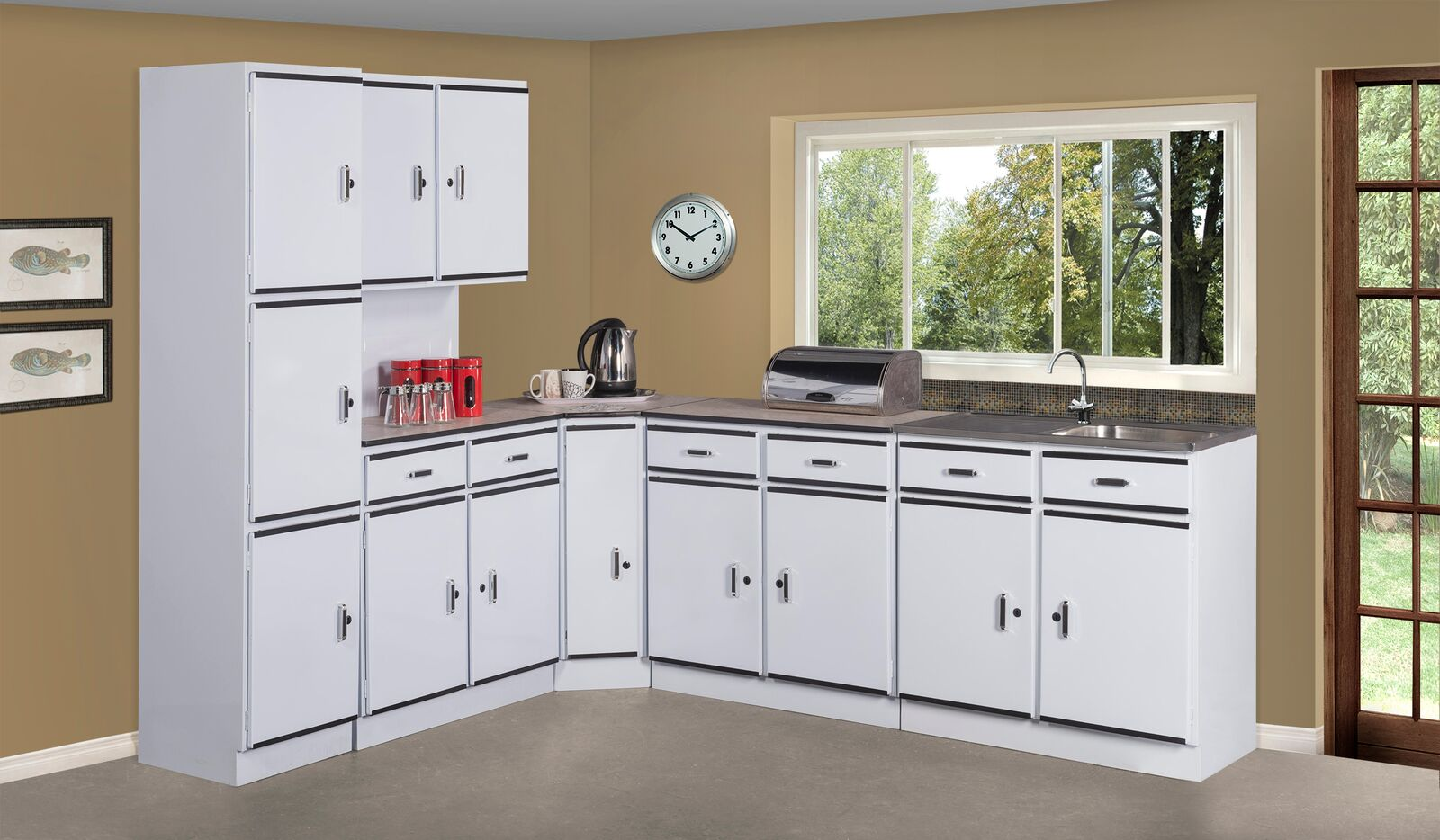 5 Piece Angela Black Kitchen Scheme