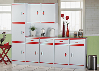 Piece Angela Red Kitchen Scheme