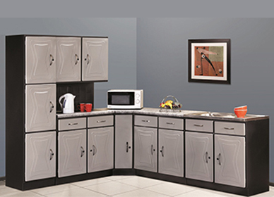 5 Piece Brazil Silver Kitchen Scheme
