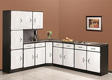 5 Piece Brazil White Kitchen Scheme