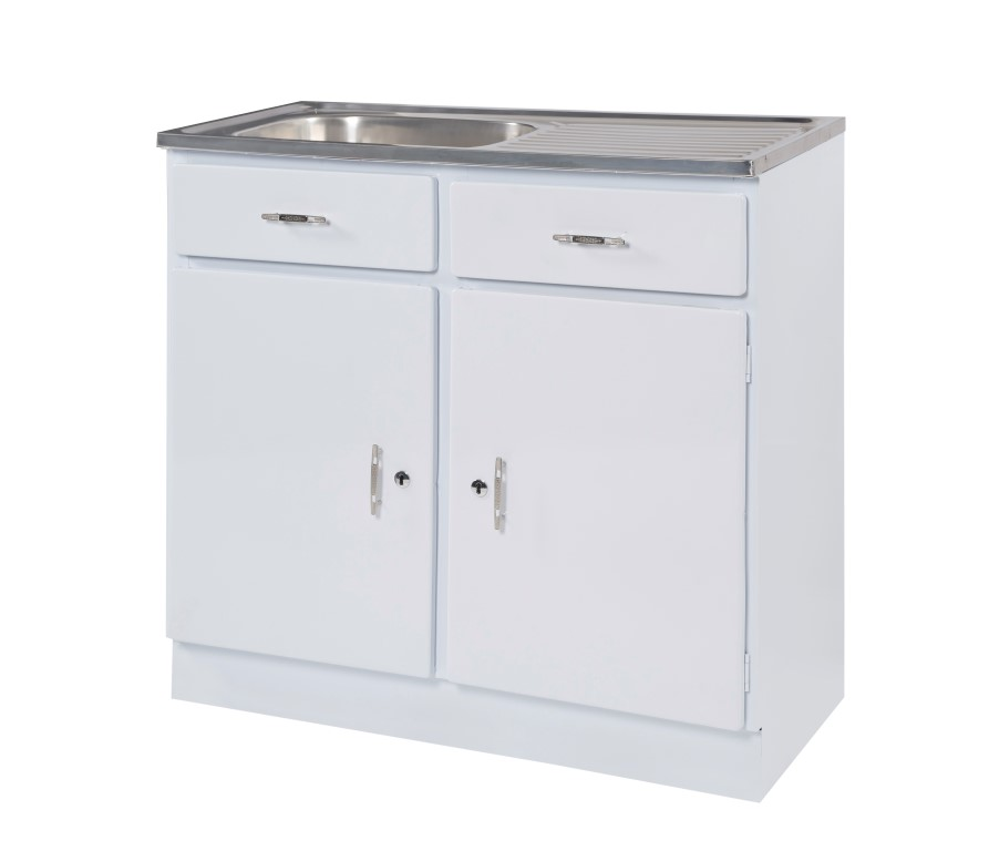 914MM X 457mm Sink Unit - Available in left or right hand bowl